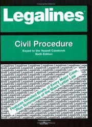 Legalines: Civil Procedure PDF