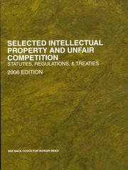 Selected Intellectual Property and Unfair Competition 2006 PDF