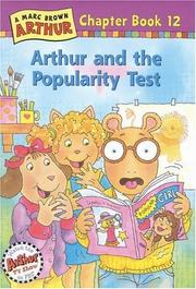 Cover of: Arthur and the popularity test by Stephen Krensky