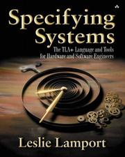 Specifying systems by Leslie Lamport