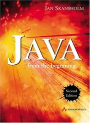 Java from the Beginning PDF