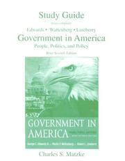 Government in America PDF