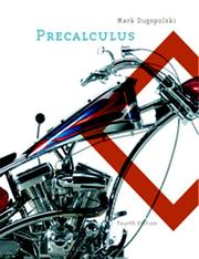 Precalculus by Mark Dugopolski