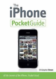 The iPhone pocket guide by Christopher Breen