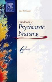 Cover of: Handbook of Psychiatric Nursing by Gail Stuart