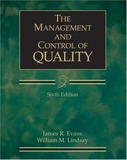 The Management and Control of Quality PDF