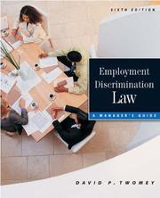 Employment discrimination law PDF