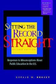 Setting the record straight PDF