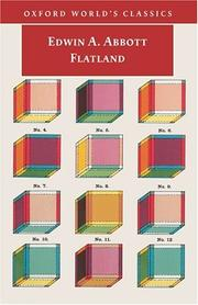 Cover of: Flatland by Edwin Abbott Abbott