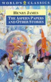 Cover of: The Aspern papers and other stories by Henry James, Jr.