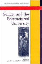 Gender And The Restructured University PDF