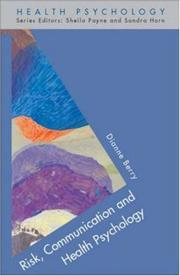 Risk, Communication & Health Psychology PDF