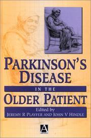 Parkinsons Disease in the Older Patient