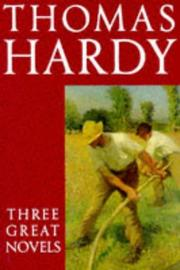 Novels by Thomas Hardy