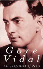 The Judgement of Paris by Gore Vidal