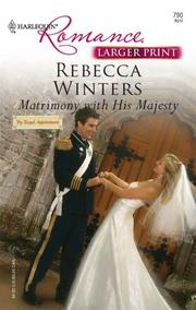 Matrimony With His Majesty (Harlequin Romance: By Royal Appointment) PDF