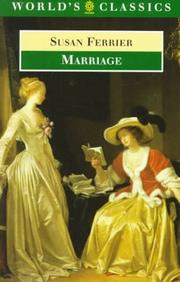 Marriage by Ferrier, Susan