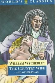 Plays by William Wycherley