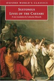 The Lives of the Caesars by Suetonius