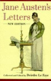 Jane Austen's letters to her sister Cassandra and others PDF