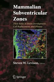 Mammalian Subventricular Zones PDF