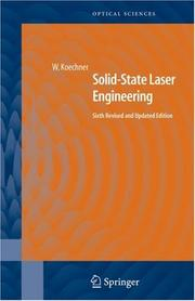Solid-State Laser Engineering (Springer Series in Optical Sciences)