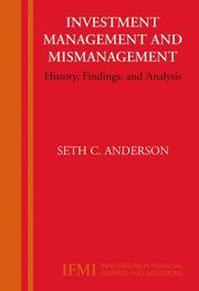 Investment Management and Mismanagement PDF