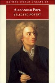 Poems by Alexander Pope