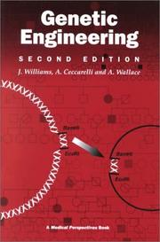 Genetic engineering by Williams, J. G.