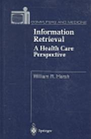 Information retrieval by William R. Hersh
