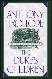 Cover of: The Duke's Children by Anthony Trollope