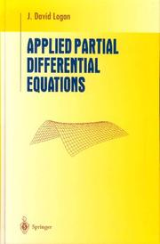 Applied partial differential equations PDF