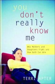 You Don't Really Know Me PDF