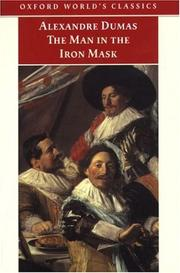 Cover of: The Man in the Iron Mask (Oxford World's Classics) by Alexandre Dumas