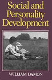 Social and personality development by William Damon