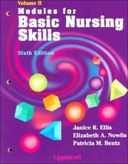 Modules for basic nursing skills by Janice Rider Ellis