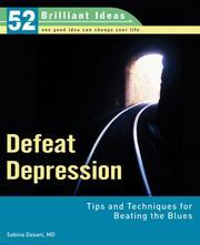 Defeat Depression (52 Brilliant Ideas) PDF