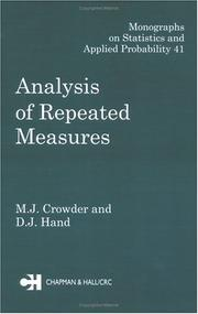 Analysis of repeated measures PDF