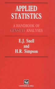 Applied statistics PDF