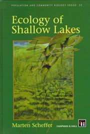 Ecology of shallow lakes by Marten Scheffer