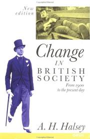 Change in British society PDF