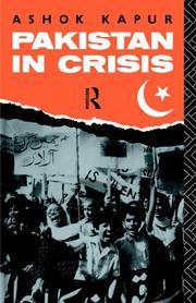 Pakistan in crisis PDF