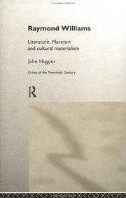 Raymond Williams by Higgins, John