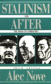 Stalinism and after by Nove, Alec.