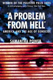 Cover of: A Problem from Hell by Samantha Power