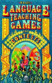Language teaching games and contests by William Rowland Lee
