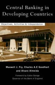 Central Banking in Developing Countries PDF