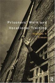 Prisoners' work and vocational training PDF