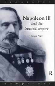 Napoleon III and the Second Empire PDF