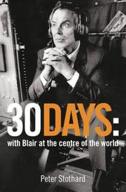 30 Days by Peter Stothard